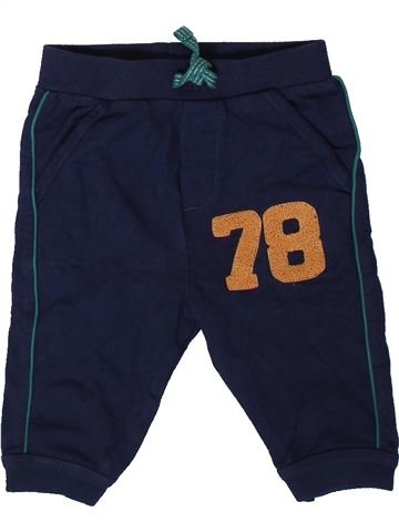 Pantalon garçon NUTMEG noir 6 mois hiver #1403836_1