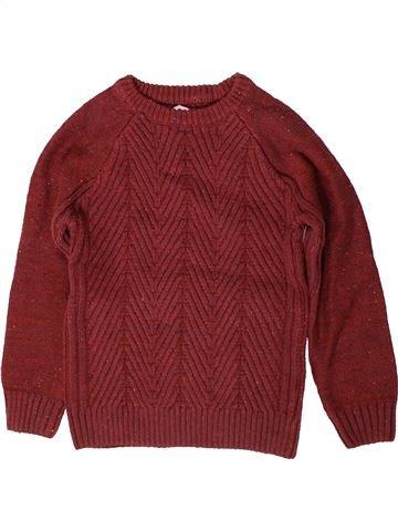 Sweat garçon MATALAN rouge 7 ans hiver #1403853_1