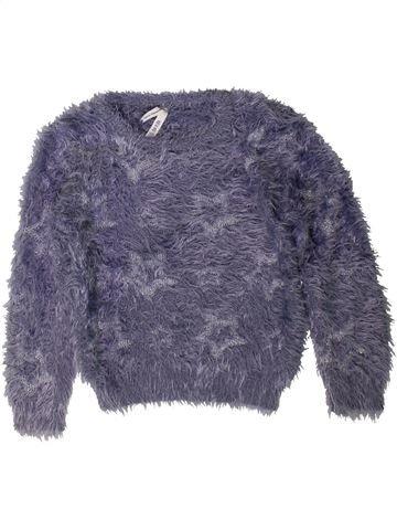 Pull fille PRIMARK bleu 6 ans hiver #1403854_1