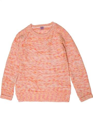 Pull fille F&F rose 10 ans hiver #1403866_1