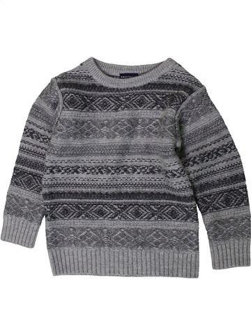 Pull garçon NEXT gris 4 ans hiver #1403868_1