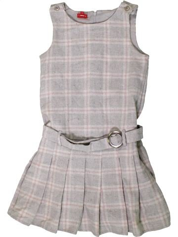 Robe fille TIGERLILY gris 8 ans hiver #1403886_1