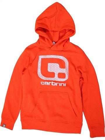 Sweat garçon CARBRINI rouge 12 ans hiver #1403949_1