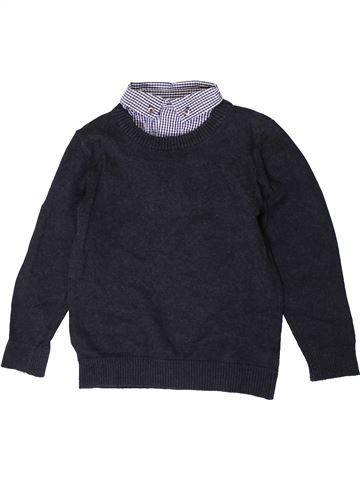 jersey niño F&F azul oscuro 7 años invierno #1403991_1