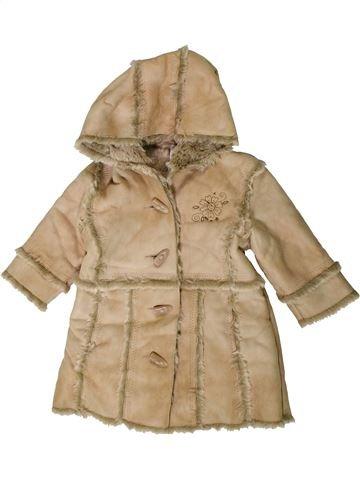 Manteau fille MARKS & SPENCER marron 9 mois hiver #1404004_1