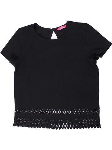 Camiseta de manga corta niña PRIMARK negro 13 años verano #1404021_1