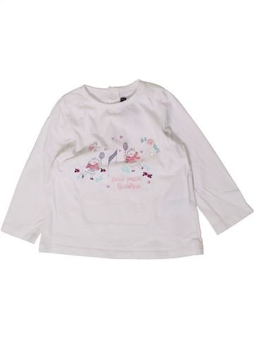 Camiseta de manga larga niña SERGENT MAJOR blanco 12 meses invierno #1404442_1