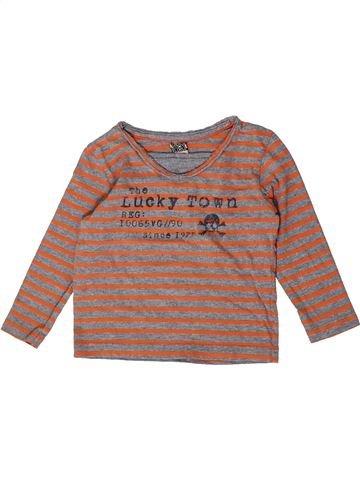 Camiseta de manga larga niño TAPE À L'OEIL marrón 2 años invierno #1404457_1