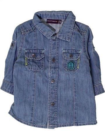 Camisa de manga larga niño SERGENT MAJOR azul 3 meses invierno #1404519_1
