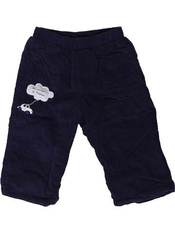 Pantalón niño MARÈSE negro 6 meses invierno #1404539_1