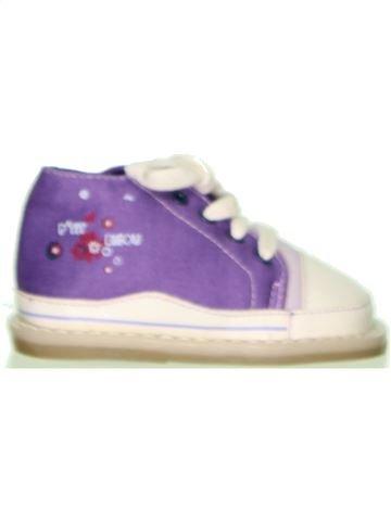 Zapatos con cordones niña P'TIT BISOU blanco 20 verano #1405833_1
