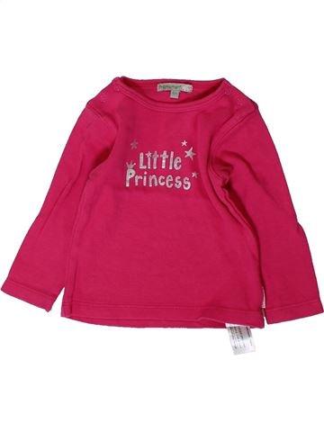 Camiseta de manga larga niña PREMAMAN rosa 6 meses invierno #1406611_1