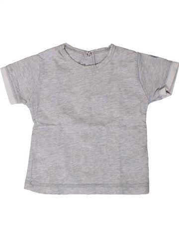 T-shirt manches courtes garçon SUCRE D'ORGE gris 3 mois été #1407548_1