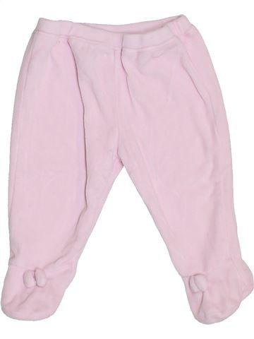 Pantalón niña NATALYS rosa 6 meses invierno #1409589_1