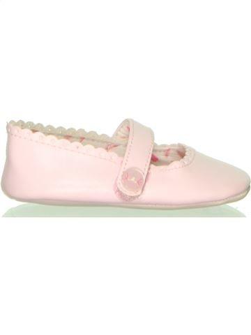 Zapatos bebe niña OKAIDI blanco 6 meses verano #1409612_1