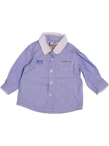 Chemise manches longues garçon MAYORAL violet 6 mois hiver #1409701_1