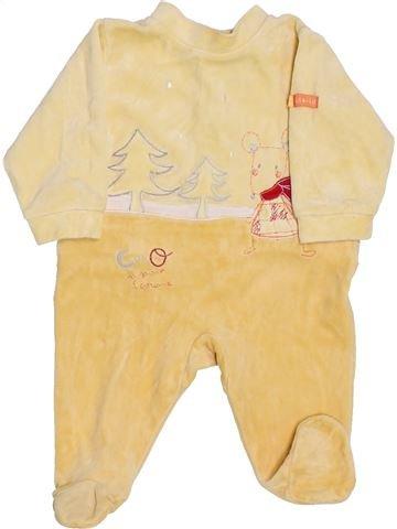 Pijama de 1 pieza niño ABSORBA beige 1 mes invierno #1409956_1