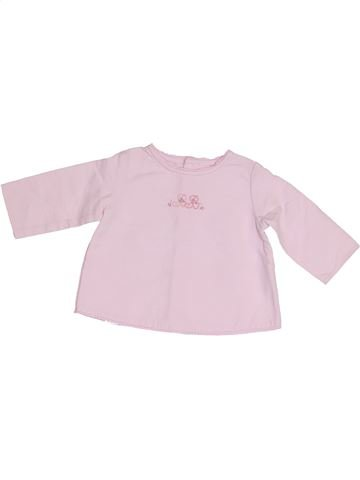Blusa de manga larga niña JACADI rosa 3 meses invierno #1410591_1