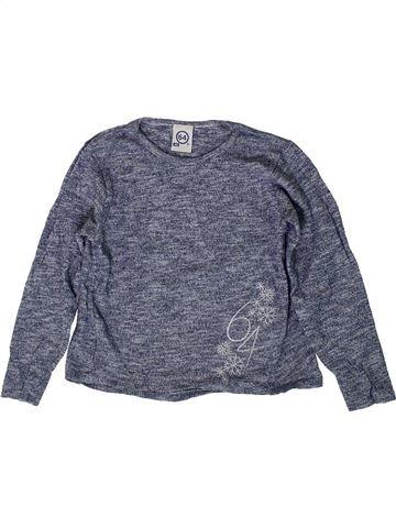 T-shirt manches longues fille 64 bleu 4 ans hiver #1410930_1