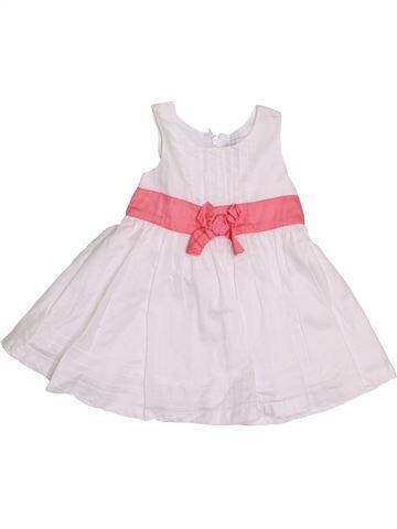 Vestido niña KIMBALOO blanco 3 meses verano #1411160_1