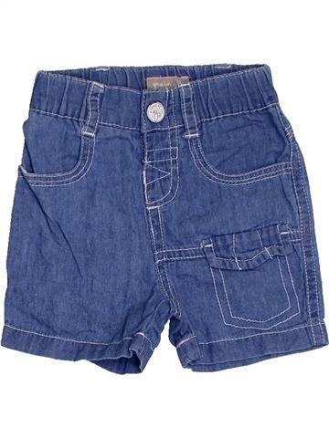 Short - Bermuda garçon GRAIN DE BLÉ bleu 3 mois été #1411493_1