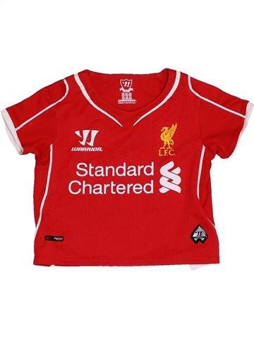 T-shirt manches courtes garçon WARRIOR rouge 6 mois été #1411834_1