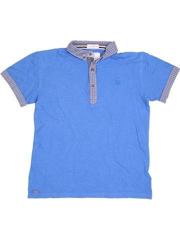 T-shirt manches courtes garçon JASPER CONRAN bleu 12 ans été #1413455_1