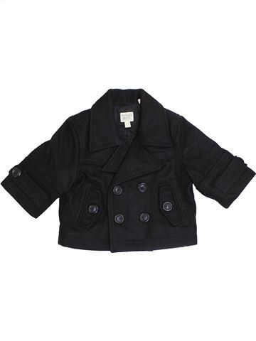 Manteau fille MONSOON noir 6 mois hiver #1413575_1