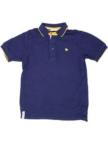 Polo manches courtes garçon JASPER CONRAN bleu 10 ans été #1415334_1