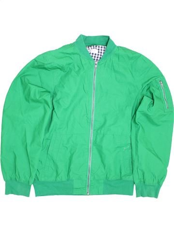 Blouson garçon H&M vert 14 ans hiver #1415709_1