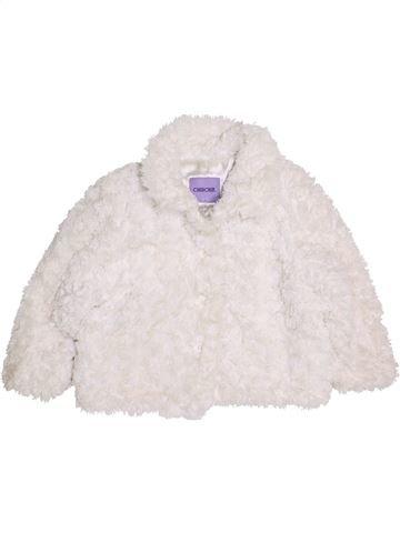 Manteau fille CHEROKEE blanc 4 ans hiver #1416154_1