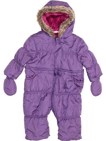 Combi-Pilote fille MINI CLUB violet 9 mois hiver #1416349_1