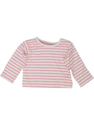 T-shirt manches longues fille HEATONS rose 6 mois hiver #1416780_1