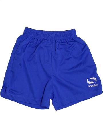 Pantalon corto deportivos niño SONDICO azul 4 años verano #1417127_1