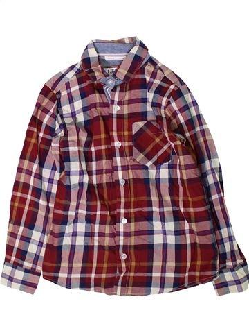 Chemise manches longues garçon JASPER CONRAN violet 9 ans hiver #1417381_1