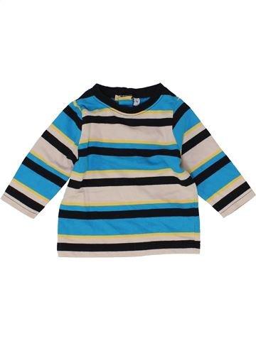 Camiseta de manga larga niño SANS MARQUE beige 6 meses invierno #1418453_1