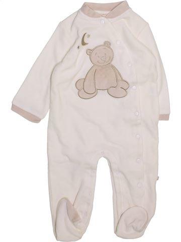 Pijama de 1 pieza niño NOUKIE'S blanco 12 meses invierno #1418654_1