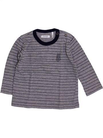 Camiseta de manga larga niño IKKS violeta 6 meses invierno #1418944_1