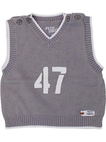 jersey niño GEMO gris 6 meses invierno #1419112_1