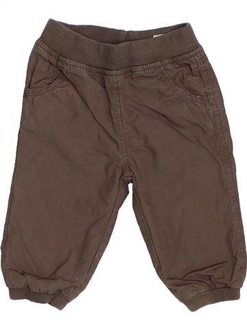 Pantalón niño C&A marrón 6 meses invierno #1419546_1