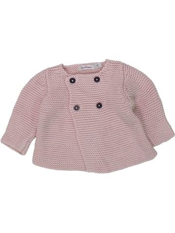 Gilet fille BOUT'CHOU beige 1 mois hiver #1419632_1