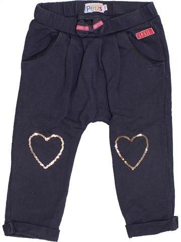 Pantalon fille LA COMPAGNIE DES PETITS bleu 12 mois hiver #1419799_1