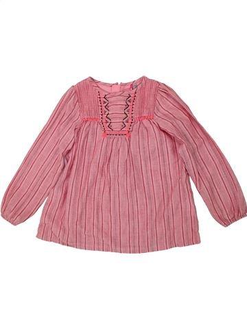Blusa de manga larga niña ORCHESTRA rosa 5 años invierno #1419881_1
