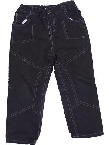 Pantalón niño VERTBAUDET negro 3 años invierno #1419923_1