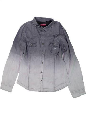 Blusa de manga larga niña IKKS gris 12 años invierno #1419935_1