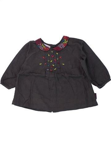 Camiseta de manga larga niña DPAM negro 6 meses invierno #1420060_1