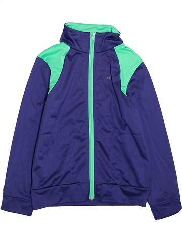 Ropa deportiva niño DOMYOS violeta 8 años invierno #1420204_1