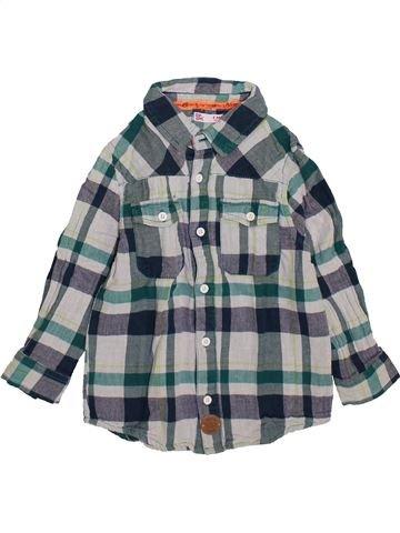 Camisa de manga larga niño DPAM azul 4 años invierno #1420436_1