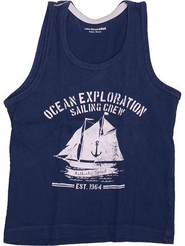 Top - Camiseta de tirantes niño VERTBAUDET azul 3 años verano #1420437_1