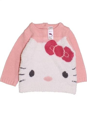 Pull fille HELLO KITTY rose 3 mois hiver #1420547_1